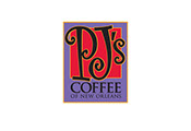 Pixellent logo development for PJs Coffee company