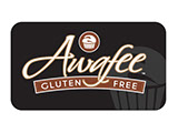 Pixellent logo development for awafee gluten free products