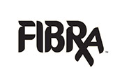 Pixellent logo development for Fibra fiber water beverage