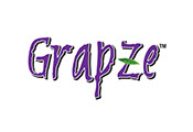Pixellent logo development for Grapze beverages