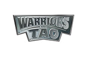 Pixellent logo development for Warriors of Tao manga comic book