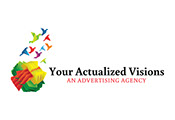 Pixellent logo and brand development for your actualized vision advertising agency