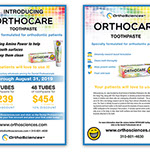 Pixellent marketing support OrthoSciences newsletter design and layout