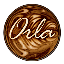 pixellent package design for orla coffee drinks