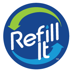 pixellent package design for refill it water