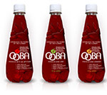 Pixellent Packaging concept design custom bottle design for Ooba hibiscus beverages