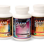Pixellent Packaging concept design for clear products supplements