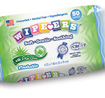 Pixellent Packaging concept design for kosher wipes single refill package flushable wipes