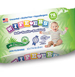 Pixellent Packaging concept design for kosher wipes single refill package