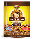 Pixellent Packaging concept design for perfect snax the perfect nut bag design