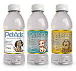 Pixellent Packaging concept design for Pet Ade water for dogs