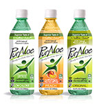 Pixellent Packaging concept design for Pur Aloe beverage company