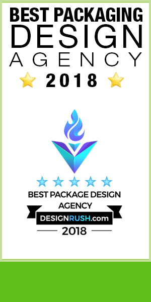 pixellent award winning package design, best packaging design agency in 2018 designrush.com award