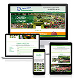 Pixellent website design and development for Generalkert Gardeining business in Hungary